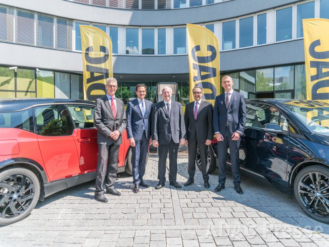 Kooperation ADAC SE und BMW Group