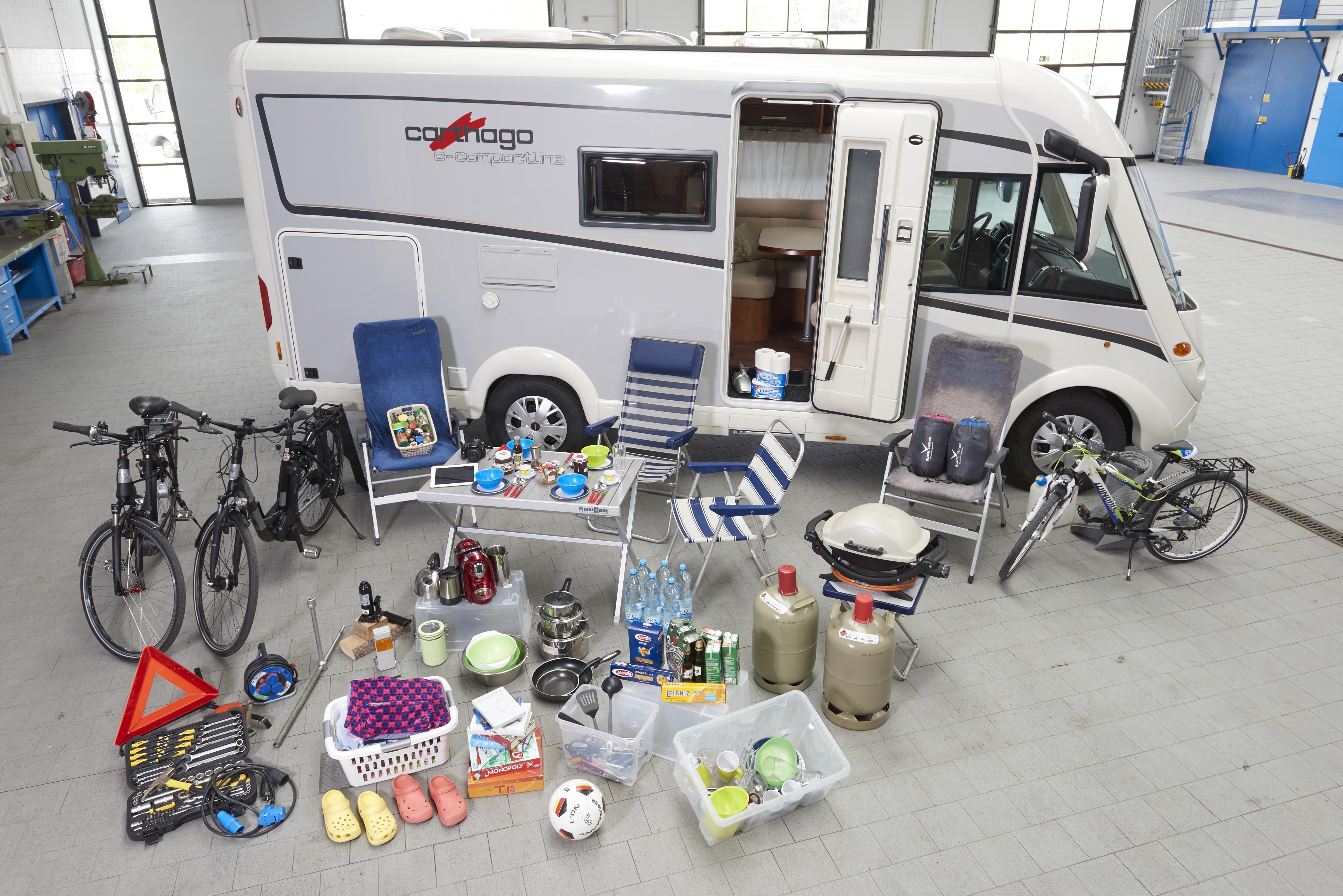Reisen mit dem Wohnmobil: ADAC Nordrhein warnt vor zuviel Gewicht